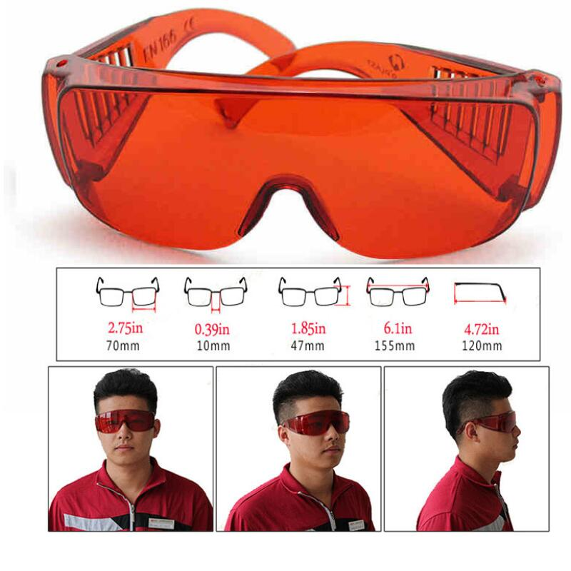 Safety Goggles Anti Laser Infrared Protective Glasses PC Lenses Anti-fog Anti-UV Anti-impact Industrial Labor Protection Goggles