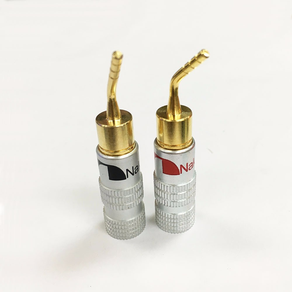 5Pair/10pcs High Quality New 24K Gold Nakamichi Speaker Pin 2mm ...