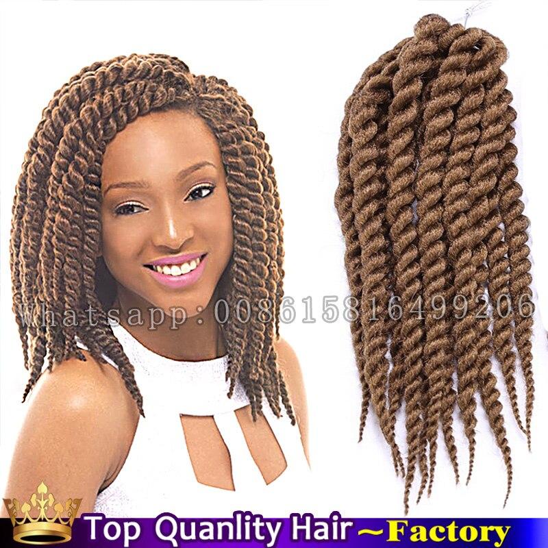 Color 30 12 Havana Mambo Twist Crochet Braid Hair 85gpack