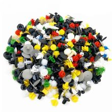 500PCS Car Mixed Universal Door Trim Panel Clip Fasteners Auto Bumper Rivet Retainer Push Engine Cover Fender Fastener Clip