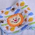 Бесплатная доставка ребенок новорожденного с весны и летом хлопковой одеяла трикотажные хлопок одеяло полотенце шарф 100% хлопок