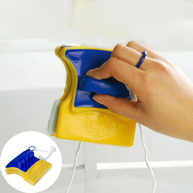 Magnetic Window Double Side Glass Wiper Cleaner Cleaning