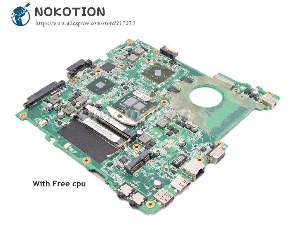 NOKOTION For Acer aspire 4738 4738G 4738Z 4738ZG Laptop Motherboard DA0ZQ9MB6C0 MBRBL06001 HM55 DDR3 HD4500 Free