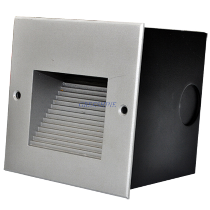 120x120x95MM Outdoor Recessed Led Wall Step Lighting IP65 Waterproof Square Stair LED Light Warm white 4pcs/lot  2.2W Wall Lamp large illumination area ul panel light 4 x1 1200x300mm hanging recessed wall surface mounting no gare soft flat light