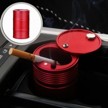 Auto Ashtray Portable Car Smole Holder Bin Dust Garbage For Accessories 4s Cylinder