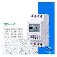 두 번째 시간 제어 스위치를 설정할 수 있습니다 모터 시동 제어 시간 제어 범위 1 초-1 주 NKG-2