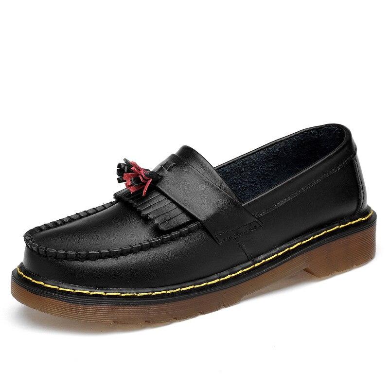OLPAY dr martens mocassins hommes ADRIAN YS chaussures lisses femme hommes chaussures mocassins en cuir robe formelle