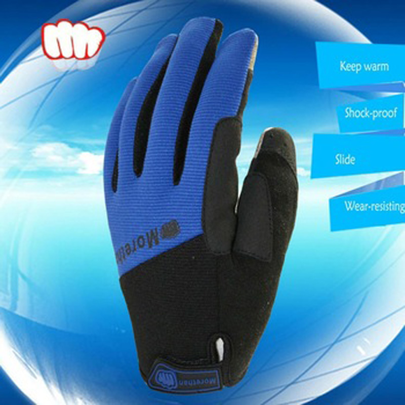 Full Finger Gel pad shock-proof&Breathable mobile phone touch screen Cycling Gloves