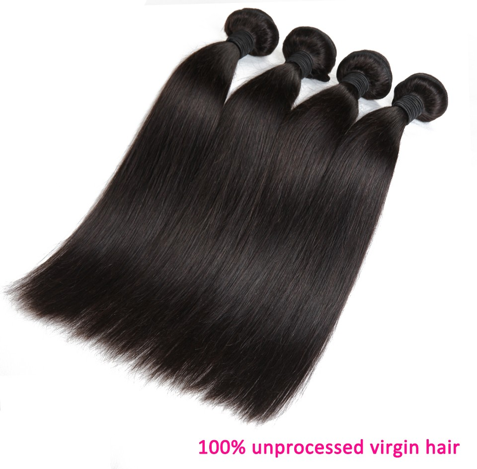 Brazilian virgin hair straight 18