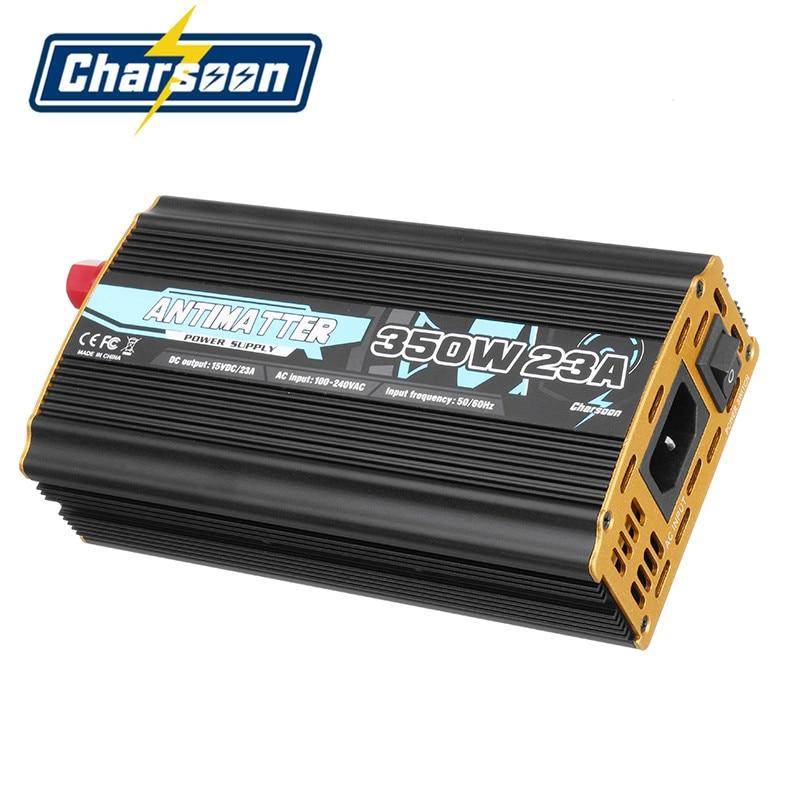 Original Charsoon antimateria 350 W 23A Lipo cargador de adaptador de fuente de alimentación para ISDT D2 Q6 equilibrio de carga de piezas para modelos RC ACC