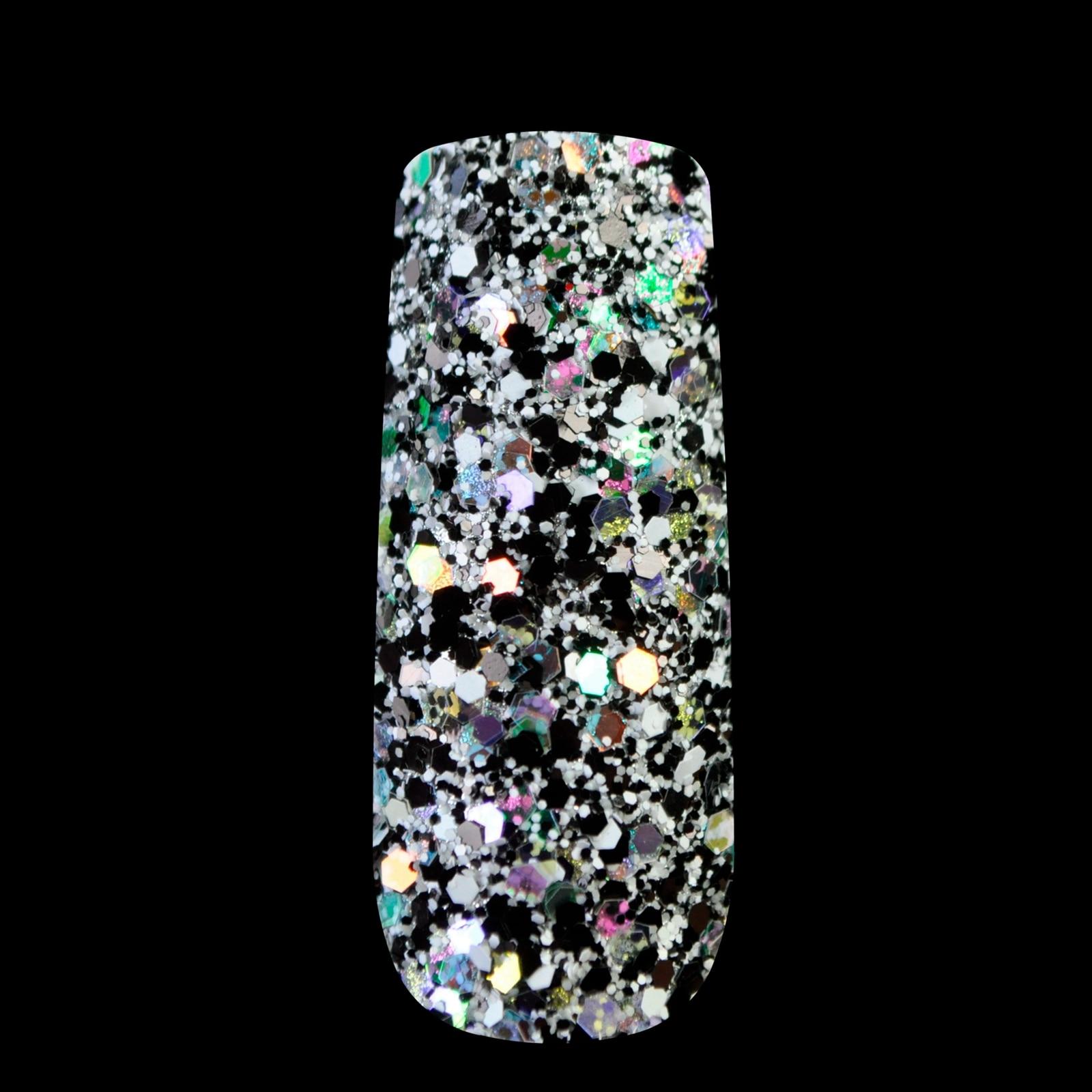 Dazzling Makeup Glitter Colored Nail Art Glitter Mix DIY Manicure 3D ...