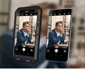Image 1 - לmate Huawei 9/9 פרו Mate Case אהבת מיי Dirt הלם הוכחה מקרה טלפון מתכת עמיד במים שריון כיסוי לmate Huawei 9 פרו