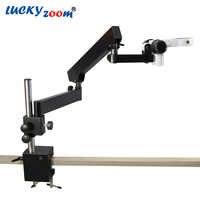 Luckyzoom Gelenk Säule Clamp Stehen Für Stereo Zoom Mikroskop Arm Focuse Trinokular Microscopio Zubehör Freies Verschiffen