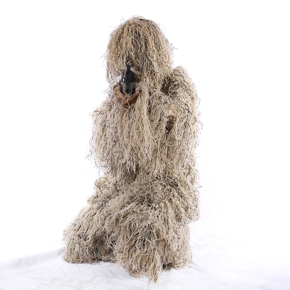 Suriwsh costume de Camouflage Ghillie vêtements de forêt pour Wargame/pour Airsoft/pour Nerf jeux de plein air-Version Jungle