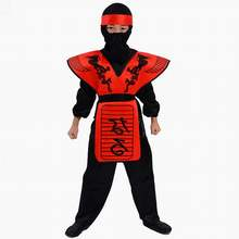 Ninjago Costume Kids cosplaBoys Clothes Sets Children Halloween Costume for Kids Fancy Party Dress Ninja Costume Superhero Suits(China)