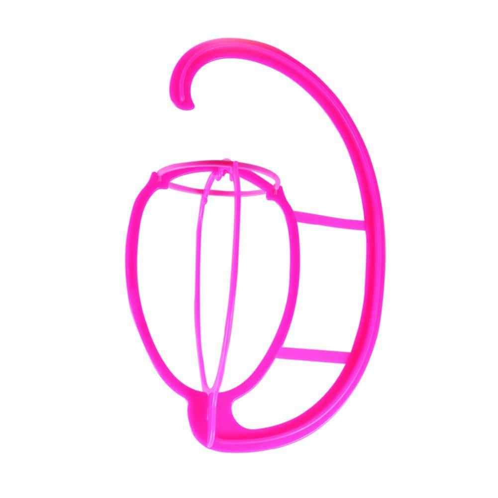 Портативная подвесная вешалка для париков прочная подставка для парика Подставка-дисплей заколка для волос крючок типа пластик DIY длинные и короткие парики шляпы