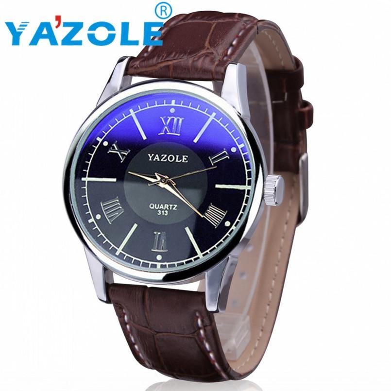 YAZOLE Wrist Watch Men 2017 Top Brand Luxury Famous Wristwatch Male Clock Quartz Watch Quartz Watch Relogio Masculino #A98