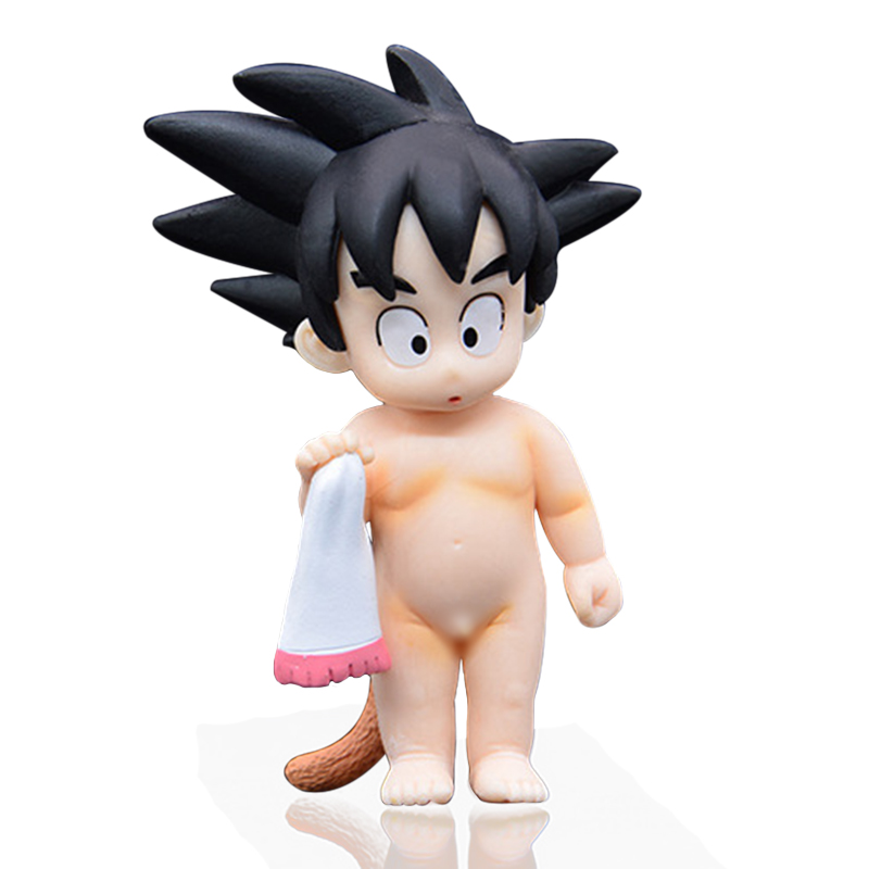 Japan Anime Dragon Ball Z Child Gokou PVC Action Figure Collection Model Toy Gift For Kid Free Shipping