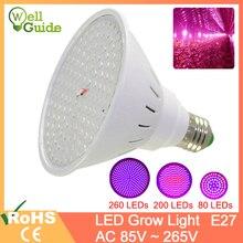 цены на LED lamp E27 Lampada LED Grow Lamp Full Spectrum 3W 4W 10W 15W AC86-265V Indoor Plant Lamp IR UV Flowering Vegetables Plant  в интернет-магазинах