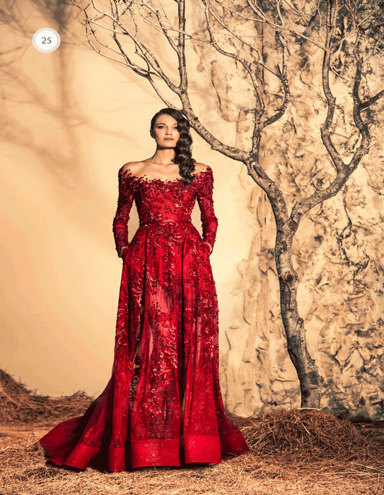 Ziad nakad haute couture rze25 luxury evening gowns latest for Haute couture dress price