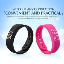 Wholesale Wearable Device Smart Band Fitness Tracker Pedometer Sleep Monitor Smart Bracelet Activity Tracker Smart Wristband