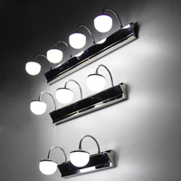 Mirror Light Led Light Microscopy Cabinet Lamp Brief Modern Mirror Glass Waterproof Anti Fog Bathroom Lamps