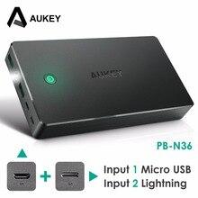 Aukeypower Bank Dual USB 20000 мАч Портативный Комплекты внешних аккумуляторов со светодиодной подсветкой мобильный телефон Powerbank для Xiaomi iphone Samsung