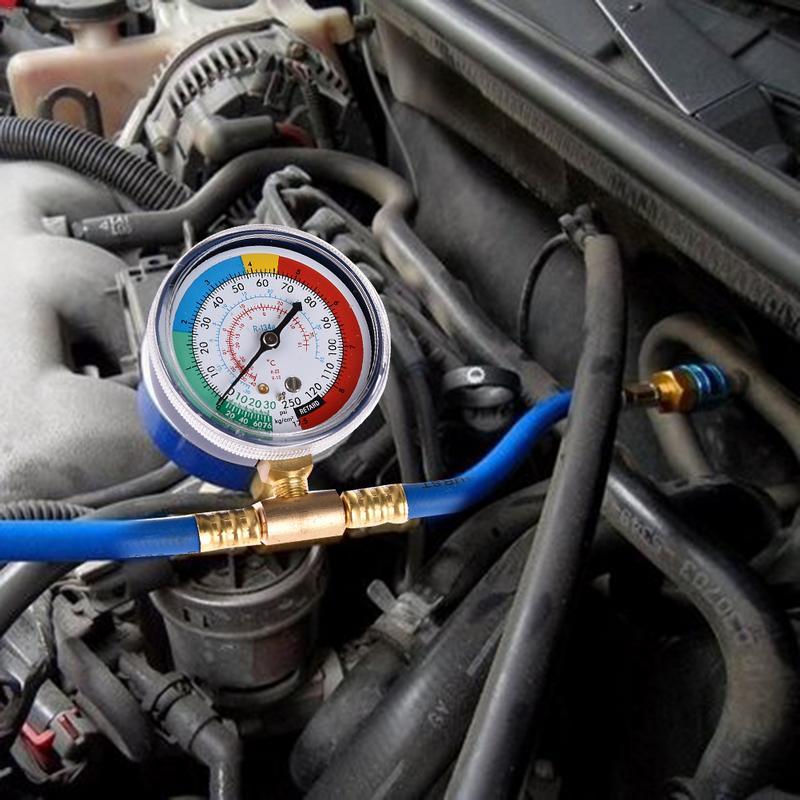 Image 5 - Автомобильный инструмент для ремонта кондиционера R134a трубка из фторида быстроразъемный хладагент разъем датчик холодного давления-in Шланги кондиционера и фитинги from Автомобили и мотоциклы