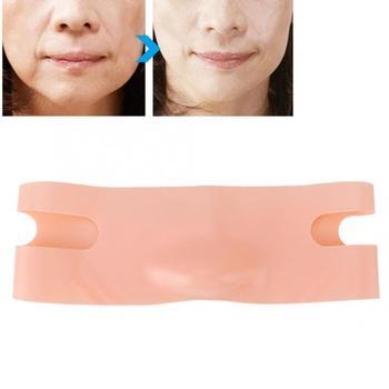 Twarzy odchudzanie podnoszenia maska cienka twarz bandaże V-twarz pasy do podnoszenia pasek tanie i dobre opinie Maszyna wykonana Face Slimming Bandages Brak elektryczne BREYLEE Silicone