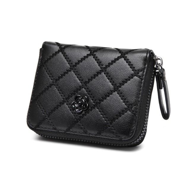 Women Purse Coin Purse Card Holder Zipper bag Mini Wallet ...