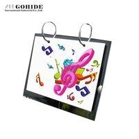6 2 Methacryloyloxyethyl Crystal Calendar Frame 13 Pp Bags Calendar Holder Photo Album Frame Free Shipping