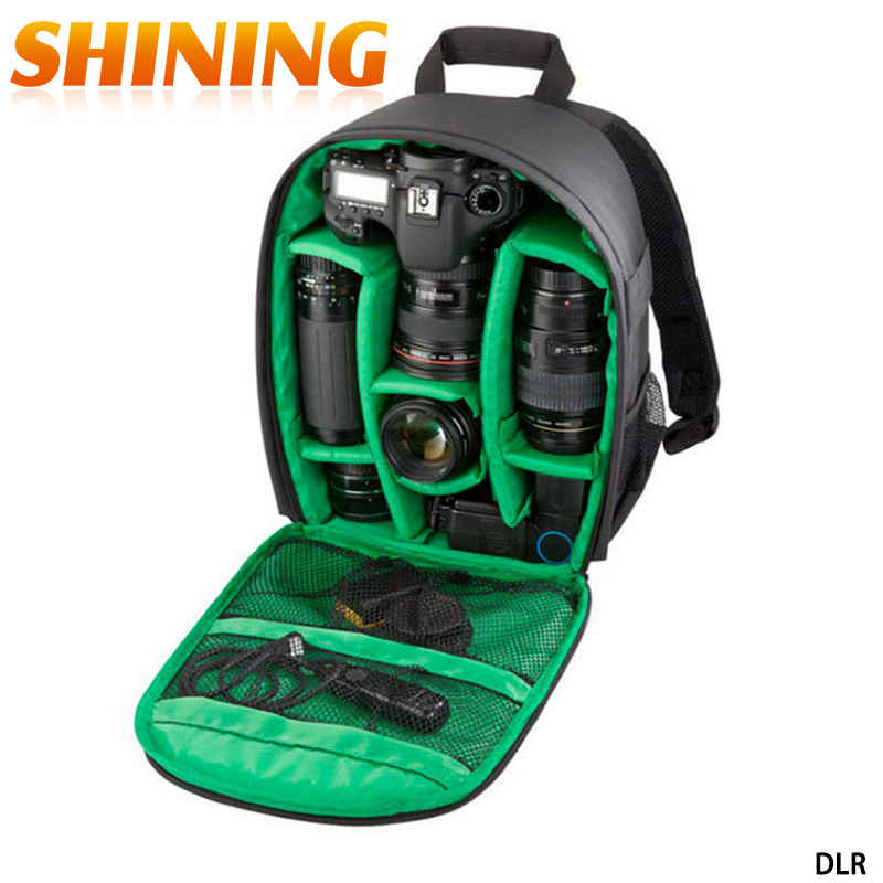 Consumer Electronics Sjb Fashion Camera Bag Waterproof Anti-theft Outdoor Camera Case Bag For Canon Nikon Dslr Digital Camera Backpack High Quality Digital Gear Bags