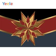 Yeele Captain Superhero America VI Birthday Party Personalized Photographic Backdrops Photography Backgrounds For Photo Studio
