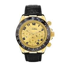 WEALTHSTAR Men role Date Fashion Quartz Men Watches Top Brand Wristwatch Male Reloj Hombre Orologio Men Leather strap sports wat
