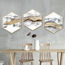 Simple restaurant wall painting Living room decorative Sofa background Bedroom landscape