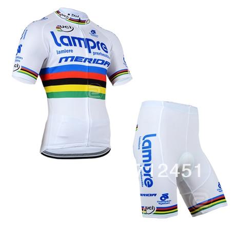 2014 Lampre команды Велосипеды Джерси носить короткие (bbb) выстрел-Тур де Франс-Мерида Бесплатная доставка