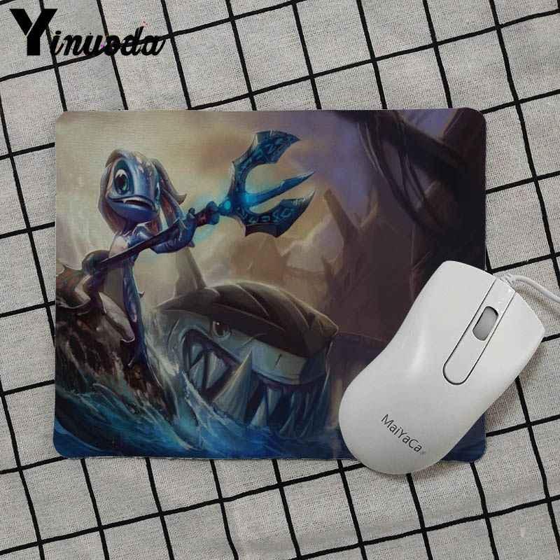 Yinuoda Anak Hadiah Pad Fizz League Of Legends Yang Unik Desktop Pad Permainan Mousepad Gamer Gaming Keyboard Mat Komputer Tablet Mouse pad