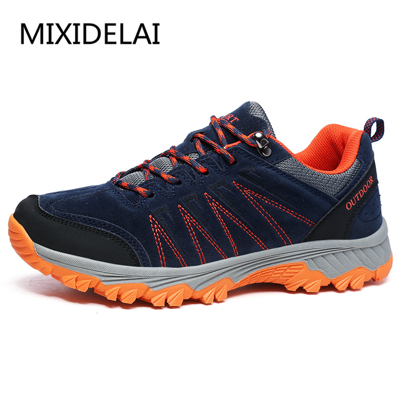 MIXIDELAI New Outdoor Men Shoes Comfortable Casual Shoes Men Fashion Breathable Flats For Men Trainers zapatillas zapatos hombre цена 2017