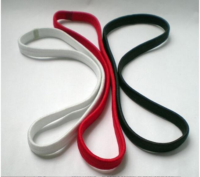 Hot sale Unisex Stretch Elastic Sports Headbands women man hairbands headwear hair accessories wholesale 10mm*400mm G-1