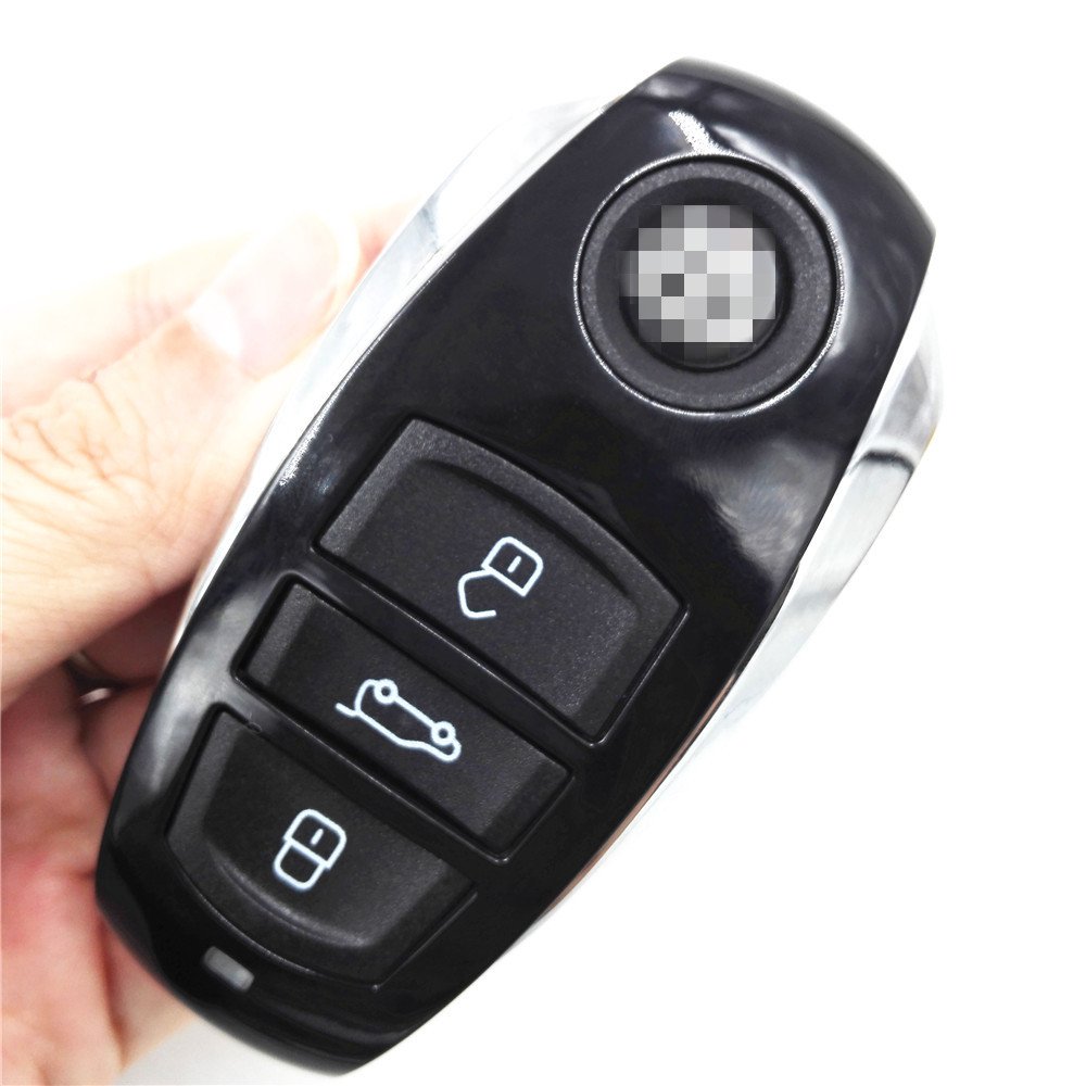 HKCYSEA 3 Buttons Remote Car Key 434MHZ for Volkswagen VW Touareg Smart Card