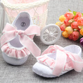 Newborn Baby Girl Shoes Cross-Tied Chassure Fille Princess Shoes Infant Girls First Walkers