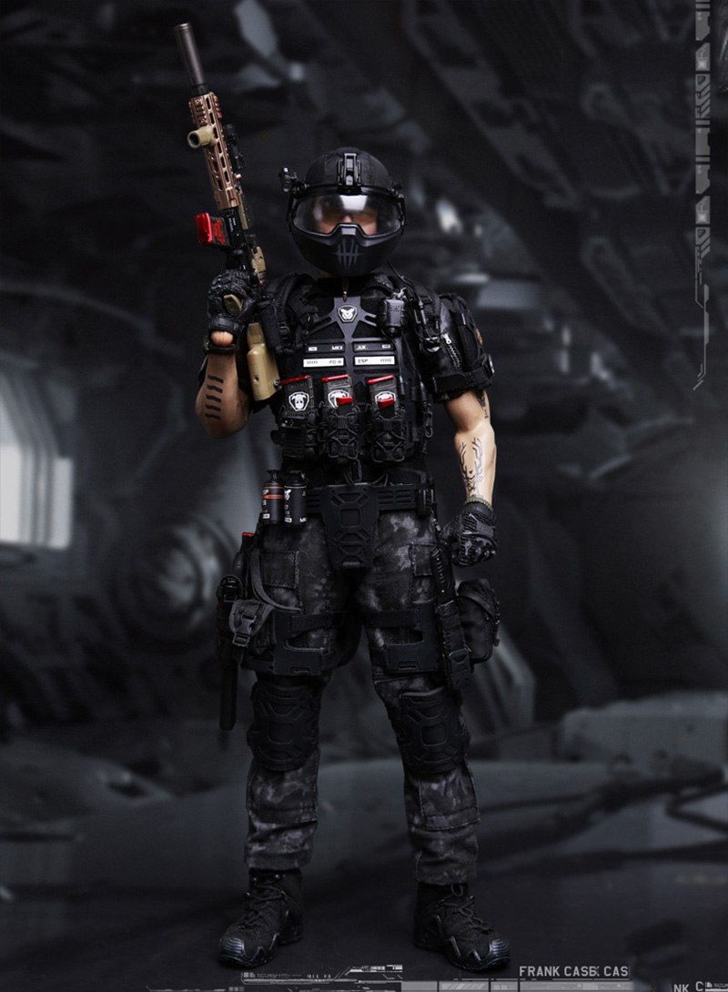 Custom 1/6 SF002 Ghost series Titan military Frank Casey Figure With Body Head Sculpt Clothes Shoes Toys Action FigureCustom 1/6 SF002 Ghost series Titan military Frank Casey Figure With Body Head Sculpt Clothes Shoes Toys Action Figure