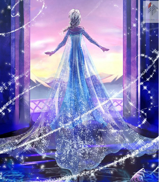 Hot Princess Dream Full drill diamond embroidery painting cross stitch finger rhinestone handicraft decoration mosaic