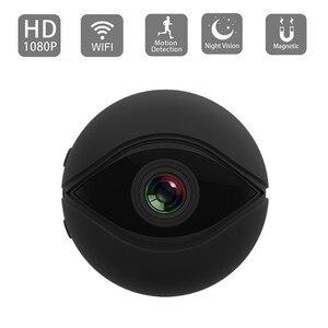 V2 mini kamera wifi 1080P HD Cam gizli kamera alarm wykrywający ruch brak światła widzenie nocne z wykorzystaniem podczerwieni kamera mała kamera dla niemowląt