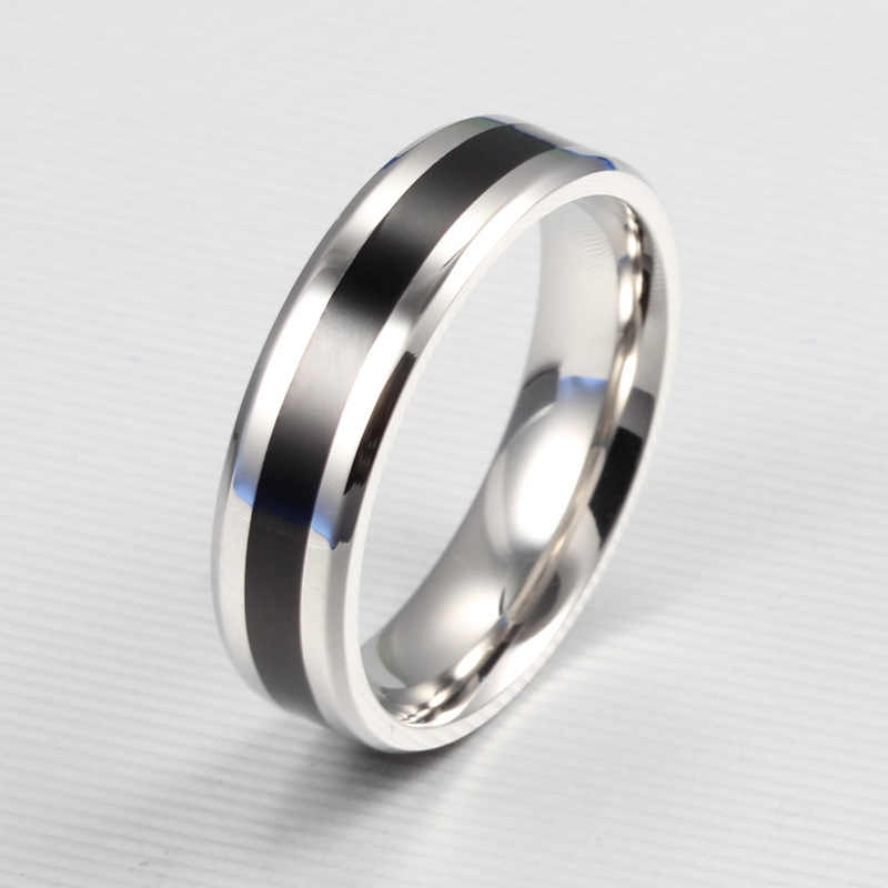 Vintage Silver Color Men Exquisite Stainless Steel Finger Ring Wedding Jewelry Charm Gift Rings For Women 4RD238