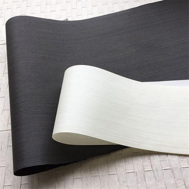 القشرة الخشبية التقنية القشرة الهندسية E.V. أسود أبيض 62x250 سنتيمتر الأنسجة دعم 0.2 مللي متر سميكة Q/C