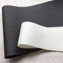 טכני עץ פורניר הנדסת פורניר E.V. שחור לבן 62x250cm רקמות גיבוי 0.2mm עבה ש/C