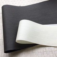 Technical Wood Veneer Engineering Veneer E.V. Black White 62x250cm Tissue Backing 0.2mm thick Q/C