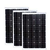 Solar Panels 180w 36v Panel Solar 18v 60w 3 Pcs Cargador Bateria Solar Phone Charger 12v Led Lights For Caravan Autocaravanas