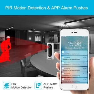 Image 4 - Sannce 홈 보안 720 p hd 미니 ip 카메라 와이파이 무선 나이트 비전 카메라 3000ma 충전식 배터리 pir 카메라